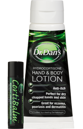Dr. Dan's hand and Body lotion to relieve allergy symptoms