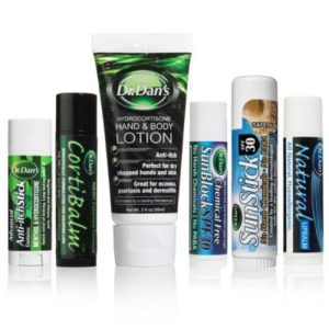 Set of CortiBalm, Lotion,SunStick, SunBlock,Natural Lip Balm, and Anti Itch Stick